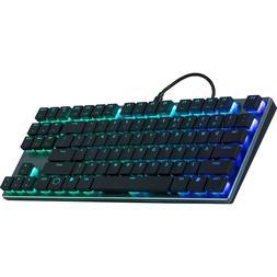 Cooler Master SK630 Tenkeyless Black Mechanical Keyboard wit