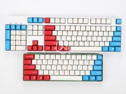 Taihao 61/104 keys Captain America Key Caps For cherry MX Me