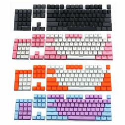 PBT Keycap Set 104 Translucent Backlit Key Cap for Mechanica