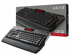 EVGA Z10 Gaming Keyboard, Red Backlit LED,